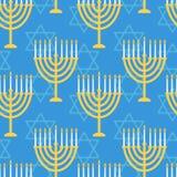 Hanukkah seamless pattern Royalty Free Stock Photos