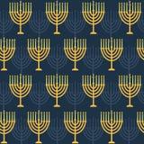 Hanukkah seamless pattern Royalty Free Stock Photography