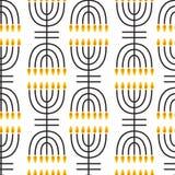 Hanukkah seamless pattern. Royalty Free Stock Images