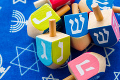 Hanukkah. A still life composed of elements of the Jewish Chanukah/Hanukkah festival royalty free stock photo