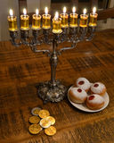 Hanukkah table Royalty Free Stock Photography