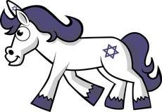 Hanukkah Unicorn Stock Images
