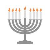 Hanukkah y todas las cosas relacionados ilustración del vector