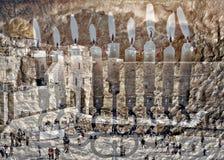 Hanukkah Żydowscy wakacyjni symbole