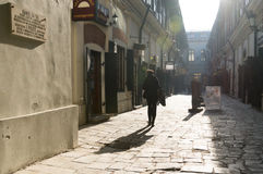 Hanul-Cu Tei, Bukarest, Rumänien Lizenzfreies Stockbild