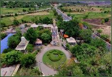 Hanuma vatika Wysoki w Odisha statui zdjęcie stock