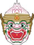 Hanuman传染媒介 免版税库存图片