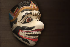 Hanuman木偶面具 免版税库存照片