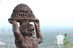 Hanuman雕象 库存照片