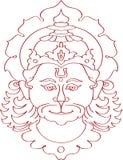hanuman ινδός πίθηκος Θεών πίθηκω Στοκ Εικόνες