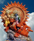 hanuman Λόρδος ganesha στοκ εικόνα