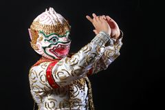 Hanuman Arkivbild