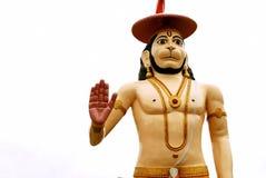 Hanuman das mächtige in einer Segenlage Lizenzfreie Stockbilder