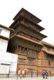 Hanuman Dhoka Durbar在中央加德满都和ge中位于 库存图片