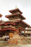Hanuman Dhoka Durbar é situado no Kathmandu e no ge centrais Foto de Stock