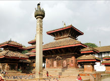 Hanuman Dhoka Durbar is situated in the central Kathmandu and ge Royalty Free Stock Image