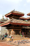 Hanuman Dhoka Durbar is situated in the central Kathmandu and ge Royalty Free Stock Images
