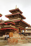 Hanuman Dhoka Durbar is situated in the central Kathmandu and ge Stock Photo