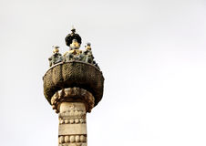 Hanuman Dhoka, a tower in-front of the  old Royal palace of Kathmandu Stock Images