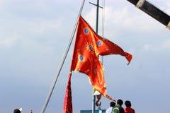 Hanuman flagga Royaltyfri Bild