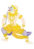 HANUMAN. A great warrior of RAMA, he is a monkey Stock Photo