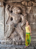 Hanuman in Hampi Royalty Free Stock Photography