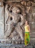 Hanuman in Hampi Royalty Free Stock Photography