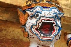 Hanuman head. Wat Phrakeaw, Thailand Stock Images