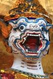 Hanuman head. Wat Phrakeaw, Thailand Royalty Free Stock Image