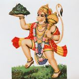 Hanuman - hindu deity Stock Images