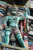 hanuman hinduiska konungapor för gud Arkivfoto