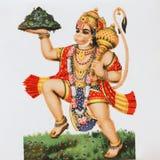 hanuman hinduiskt för gud Arkivbilder