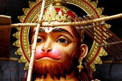 Hanuman im Bau Lizenzfreie Stockfotografie