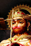 Hanuman im Bau Lizenzfreie Stockfotos