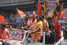Hanuman Jayanthi-Shoba yatra Royaltyfria Foton