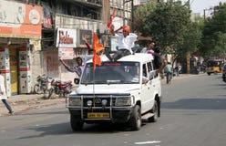 Hanuman Jayanthi-Shoba yatra arkivfoto