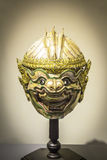 HANUMAN, KHON MASK , sculpture royalty free stock images