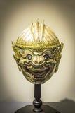 HANUMAN, KHON-MASKE, Skulptur Lizenzfreie Stockbilder