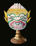 Hanuman Mask. From an art show in Thailand for the ceremony. Pre-sessional national identity are priceless and storage. It is also the fine arts as well royalty free stock photography