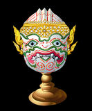 Hanuman Mask. Mask characters from the Ramayana, Hanuman is a noble art is beautiful for show Stock Photos