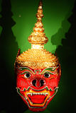 Hanuman Mask From Thailand Royalty Free Stock Photos