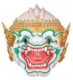 Hanuman maska w Tajlandzkim klasycznym stylu Zdjęcia Royalty Free