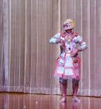 Hanuman in Maske Ramakien Khon Lizenzfreies Stockfoto