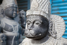 Hanuman monkey god Statue Royalty Free Stock Image
