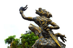 Hanuman, the monkey literature, Thailand Royalty Free Stock Photo