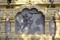 Hanuman with mountain Royalty Free Stock Photo