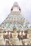 Hanuman pagody bazy wzór w wata arun Obraz Stock