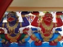 Hanuman-ramayana Affe Stockfotos