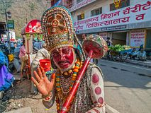 Hanuman in Rishikesh Stock Image
