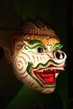 Hanuman Schablone von Birma Stockbilder